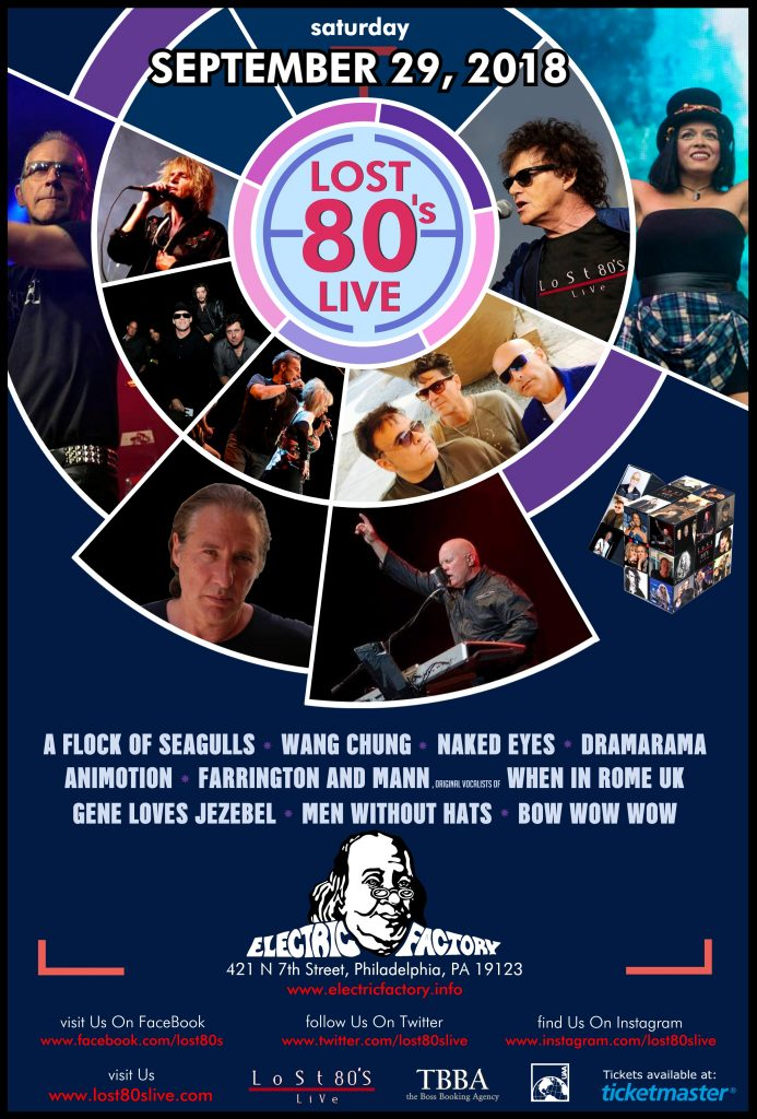 electric factory lost 80s live