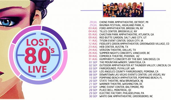 Lost 80's Live is Heading to a City Near You in 2018
