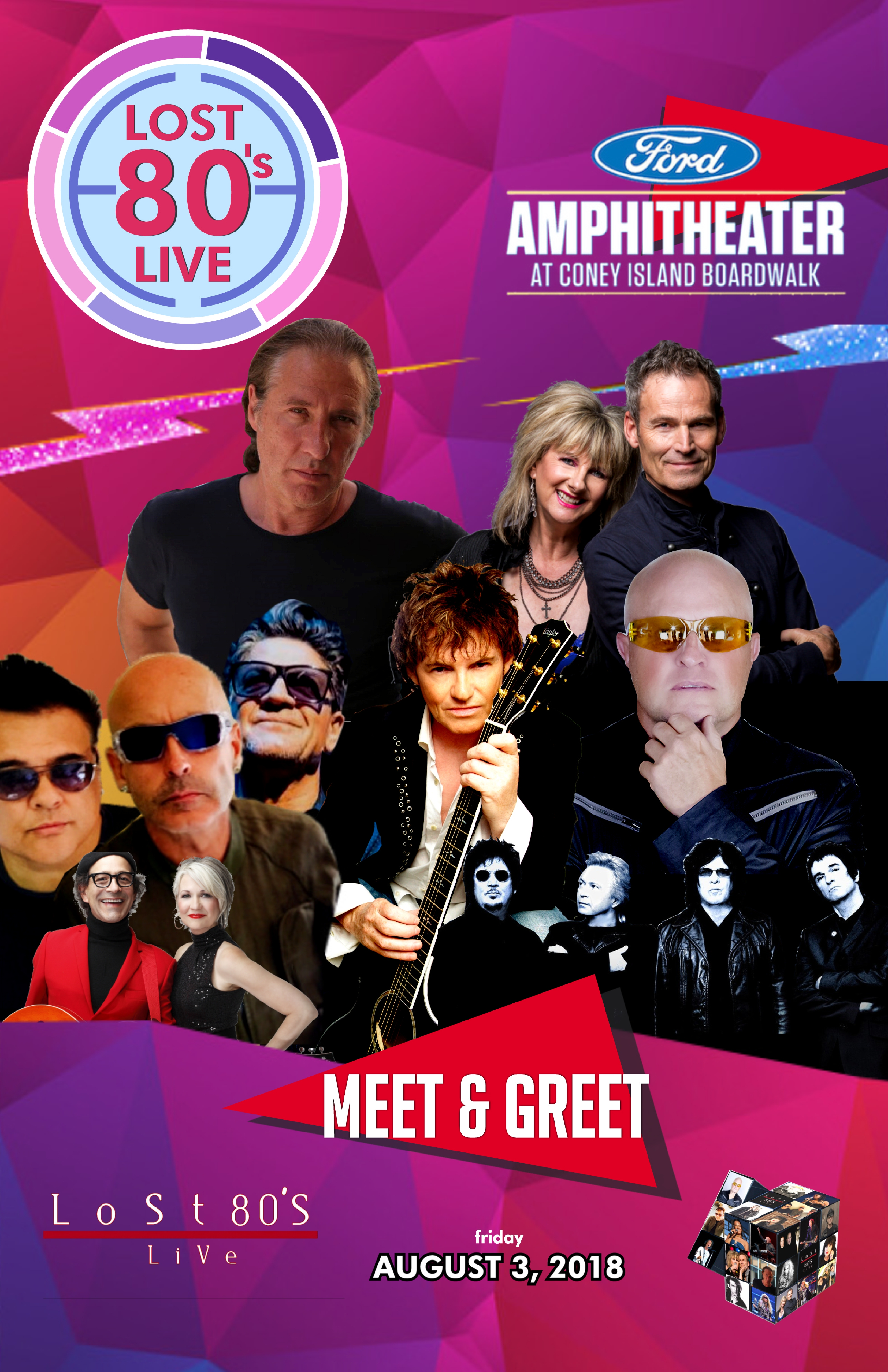 Meet and greet lost 80s ford amphitheater ny for the ultimate 80s meet and greet lost 80s ford amphitheater ny for the ultimate 80s fan experience aug 03 show ticket and meet and greet m4hsunfo