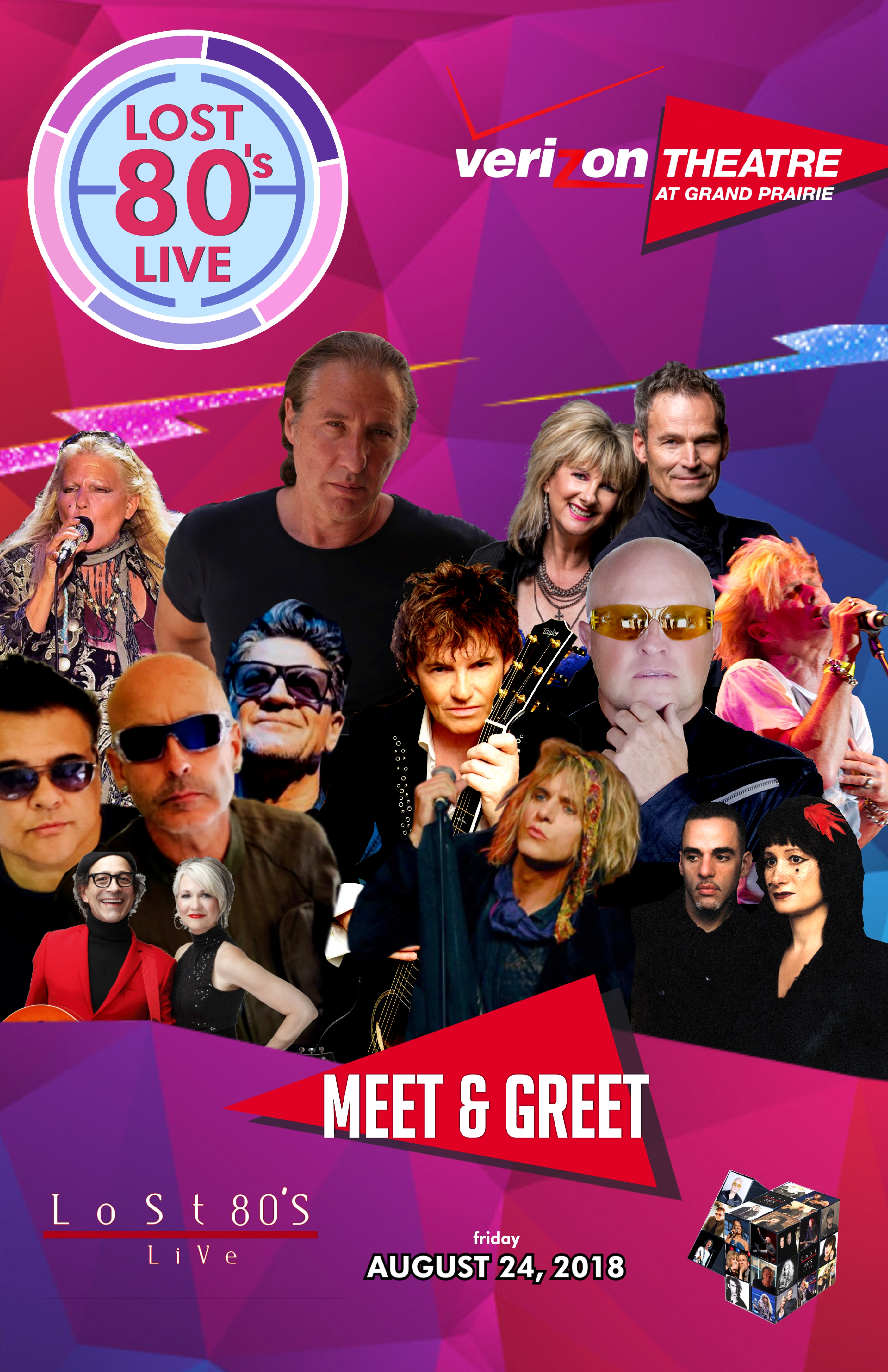 Meet and greet lost 80s live verizon theatre at grand prairie tx meet and greet lost 80s live verizon theatre at grand prairie tx for the ultimate 80s fan experience aug 24th for ticket holders only m4hsunfo Image collections