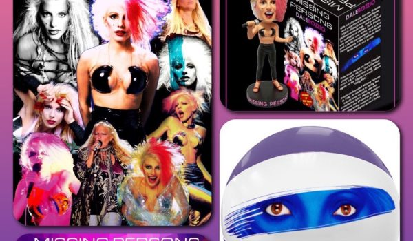 Dale Bozzio Bobble Heads, Beach Balls and Icon Poster