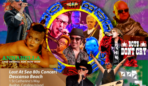 Lost 80's Live Shipwrecked Concert Catalina Island